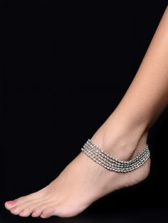 Anklets, Indian jewelry