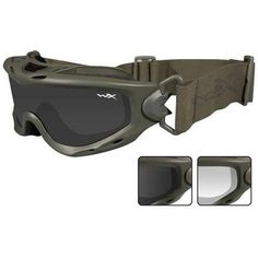 Wiley-X Spear Tactical Goggles