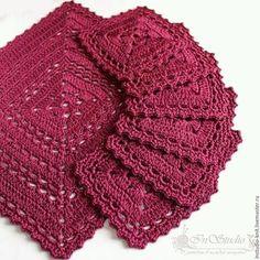 Ideas Crochet Flowers Scarf Shawl For 2019 Crochet Flower Scarf, Crochet Doily Rug, Crochet Coaster Pattern, Crochet Placemats, Crochet Mittens, Crochet Diagram, Crochet Squares, Thread Crochet, Crochet Shawl