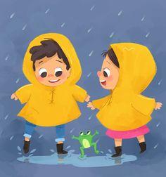 Rainy Days on Behance