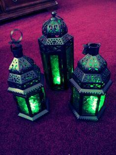 My wedding lanterns