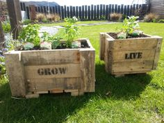 Recycling in the garden - Pallet Perfection - Landscape Hub