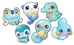 starter pokemon sticker sets - Thumbnail 3