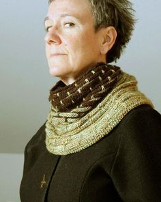 Kaul is a generous, textured top down cowl that flares slightly toward the bottom - A smattering of slipped stitches appear regularly across some of the rounds but only one colour is knitted at a time - The cowl can be knitted with 1.5 skeins of DK or Worsted yarn - If you want a larger cowl or wish to knit with sock yarn, simply add more repeats (cast on additional multiples of 10 stitches) - For a 1-skein cowl, just make it shorter – cast off sooner - Feel free to play with more than two…