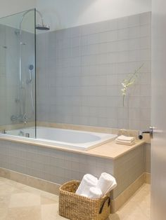 Jacuzzi Tub Shower Combo Design: Modern Bathroom Ideas With Jacuzzi Tub Shower Combo Design ~ jsdpn.com