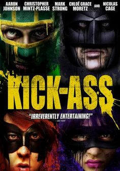 Kick-Ass (2010) Inspired by his love of comic books, high school student Dave Lizewski (Aaron Johnson) decides to transform himself into a masked crime fighter -- a decision that eventually thrusts the teenager into Internet stardom. Soon, Dave's antics inspire a wave of would-be heroes to don costumes and live out their superhero fantasies. Nicolas Cage, Christopher Mintz-Plasse and Chloe Moretz also star in this comic book adaptation from director Matthew Vaughn.