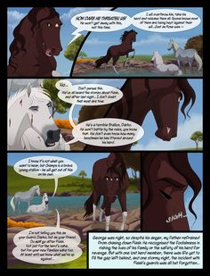 PREVIOUS: NEXT: Comic fans join, for updates on progress and sneak peeks to new pages! So a while ago I split the old page 15 to create pages 16 and totH Issue pg 017 UPDATED Grafic Novel, Disney Horses, Spirit And Rain, Wolf Comics, Horse Animation, Horse Cartoon, Indian Horses, Horse Armor, Funny Dog Memes
