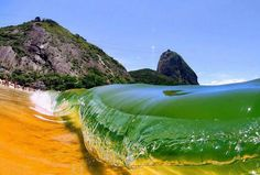Red Beach, Rio De Janeiro, Brasil Places to see before you die The Places Youll Go, Places To See, Beautiful World, Beautiful Places, Amazing Places, Amazing Things, Red Beach, Nice Beach, Ocean Waves