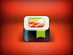 Auto Sushi App Icon  by Alex Litvinov