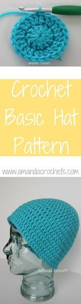 crochet basic hat pattern