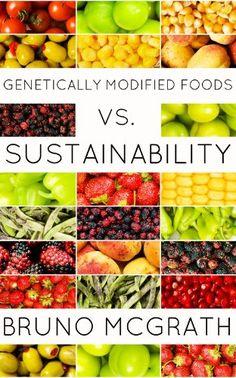 Genetically Modified Foods vs. Sustainability -  http://frugalreads.com/genetically-modified-foods-vs-sustainability/ -