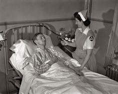 wwII 1940s history vintage nurse