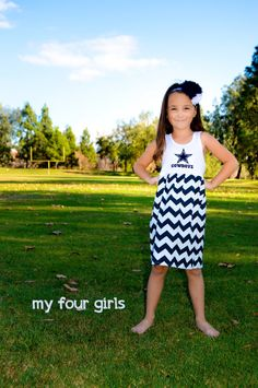 A personal favorite from my Etsy shop https://www.etsy.com/listing/257547756/baseball-dress-ny-yankee-dress-girls-new