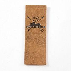 """Kunstlederlabels """"little Adventurer"""" - Juno design Patches, Baby Makes, Adventurer, How To Make, Design, Artificial Leather"""