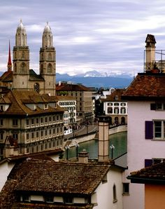 Zurich, Switzerland. Been there. It's a nice city. You can't go wrong in Switzerland, though.