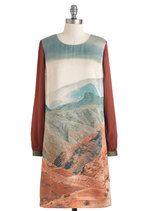 Road Trip Dress!!!! Glam Canyon Dress   Mod Retro Vintage Dresses   ModCloth.com