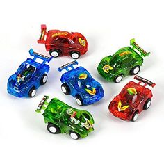 Finger cars party favors on Amazon