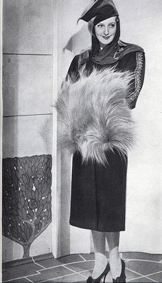 Jeanette MacDonald in a design by Adrian