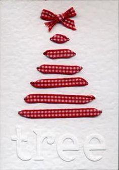 #biglietto natalizio con #alberello di Natale originale!