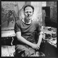 """Frank Auerbach studio: """"It seems to me madness to wake up in the morning and do something other than paint, considering that one may not wake up the following morning."""""""