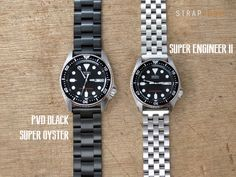 The breakthrough of your Seiko #SKX013 | PVD black Super Oyster or Super Engineer II?