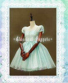 Classical Puppets Candy Alice Dress « Lace Market: Lolita Fashion Sales and Auctions