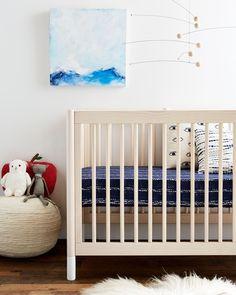Shibori Organic Crib Sheet