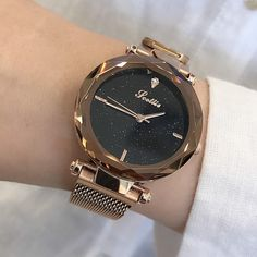 There is always many products on sae upto - 2019 Luxury Brand lady Crystal Watch Magnet buckle Women Dress Watch Fashion Quartz Watch Female Stainless Steel Wristwatches - Fast Mart Watch Holder, Women's Dress Watches, Elegant Watches, Casual Watches, Stylish Watches, Beautiful Watches, Stainless Steel Mesh, Seiko Watches, Luxury Watches