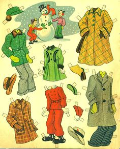 Blondie 1954 - Bobe Green - Picasa Web Albums Paper Toys, Paper Crafts, Blondie And Dagwood, Wooden Clothespins, Bobe, Pattern Paper, Paper Patterns, Vintage Paper Dolls, American Comics