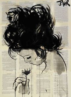 "Saatchi Art Artist Loui Jover; Drawing, ""new spring"""