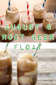 Happy Root Beer Float Day | August 6th