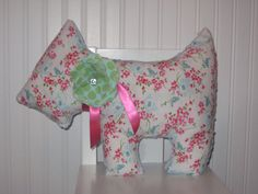 Minky pillow dog pillow nursery decor bedding blue by LyLyRosee, $20.00