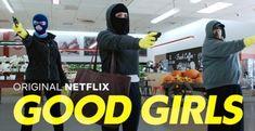 good girls netflix serie assalto bandidas capa Tv Series To Watch, Netflix Series, Series Movies, Movies And Tv Shows, 12 Monkeys, Chicago Med, Crime, Great Tv Shows, Film Serie