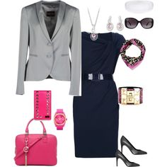 """""""outfit for lawyer (woman)"""" by niclakoll on Polyvore http://whoisthisfashion.blogspot.com"""