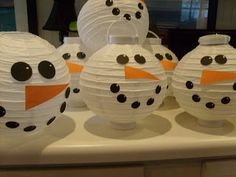 Remember this lantern idea from an earlier post?? Well, I've been making lots and lots of snowmen for the event this Friday and they were s...
