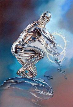 Iceman/Bobby Drake founding member of the X-Men by BORIS VALLEJO