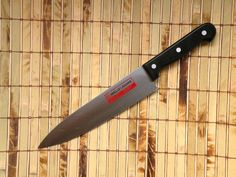 Chef's Knife Barclay Lausanne Kitchen Knife Stainless Full Tang Blade Vintage #BarclayLausanne
