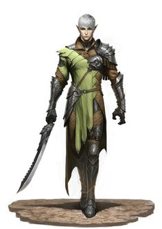 Knight squire Fin'adaris, son of Tir'adaris.
