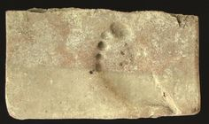 Archaeological excavations in the Hellenistic city of Parion have revealed a 2,000-year-old footprint that is believed to have belonged to a laborer.