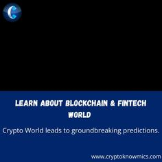 Crypto World leads to groundbreaking predictions. Visit Cryptoknowmics to learn more about the Blockchain and Fintech world. To watch more videos, click on the youtube channel. #merrychristmas #christmas #cryptonews #cryptoupdates #digitalcurrency #cryptoevents #cryptoexchange #crytomining #cryptomarket #cryptospace #cryptocoins #bitcoin #cryptomoney #cryptotechnology #cryptotrading #peercoin #titcoin #potcoin #feathercoin #primecoin #petro #monero #litecoin #cryptowallet #ethereum #dApps… Crypto Money, Crypto Market, Blockchain, Channel, Watch, Learning, World, Videos, Youtube