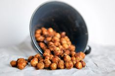 toasted ranch chickpeas - awesome alternative to popcorn for movie night!