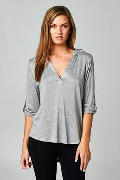Kyra Top in Grey