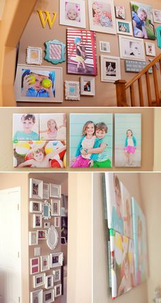 Wall art ideas and tips from MpixPro Expert @Laura Winslow. #photogpinspiration