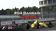#03 | F1 2016 | Karriere | Training Bahrain | German | 4k/HD|