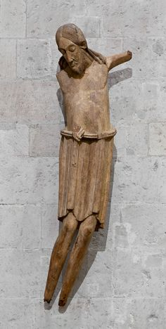 Christ on the Cross - St George, Cologne - AD - Wood The Cross Of Christ, European Paintings, Corpus Christi, Romanesque, Old Master, Christian Art, Crucifix, Jesus Christ, Medieval