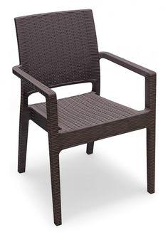 € 99,50 #sconto 50% per la #sedia #outdoor con poggiabraccia LAVANDA. Ideale per #arredare il #giardino, il #terrazzo, l'esterno di una #caffetteria o nella zona #bar in #piscina. Struttura in in resina e fibra di vetro colorata. In #offerta su #chairsoutlet factory #store #arredamento. Comprala adesso su www.chairsoutlet.com