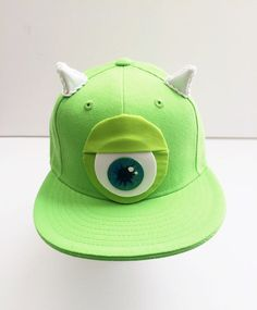 Monsters Inc Mike Wazowski Hat Monsters Inc by ToNeverNeverland