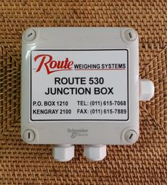 Junction Box for two Loadcell input and indicator output Junction Boxes
