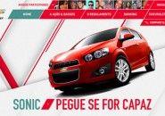 * Chevrolet Sonic: Encontre o carro lançado de paraquedas e ele é seu *
