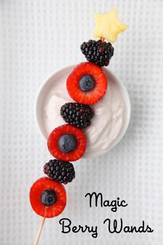 Magic Berry Wands from Weelicious